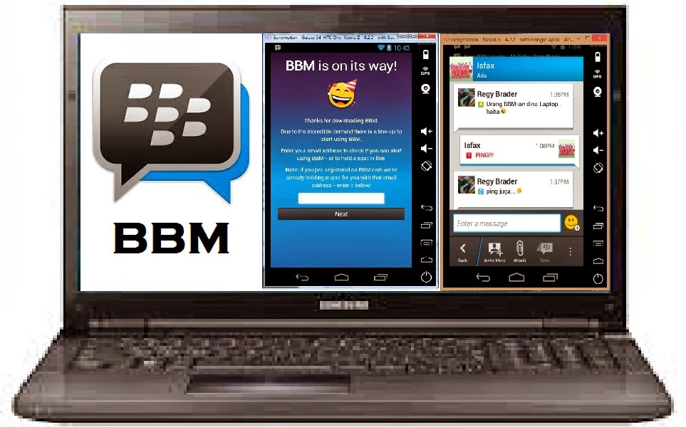 Cara Instal BBM For PC/Laptop