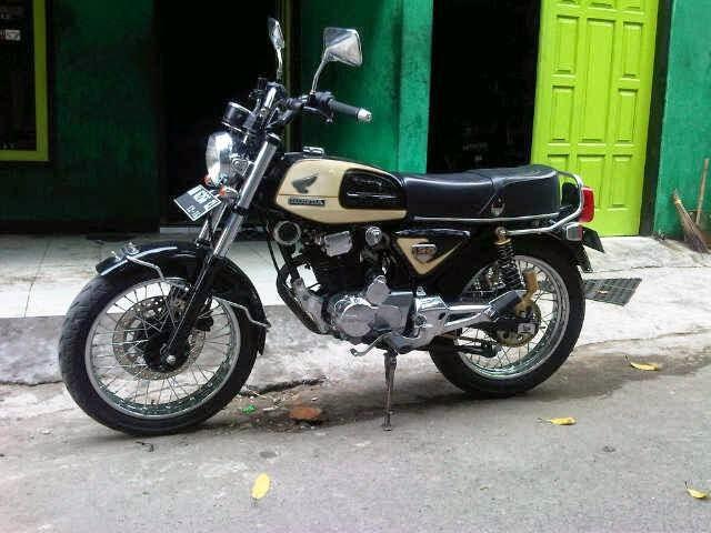 5 Modifikasi Honda CB Terbaru, Antik