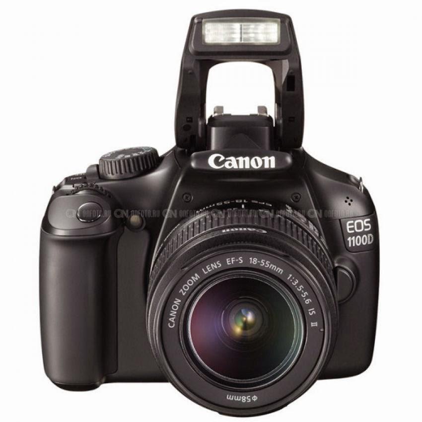 Spesifikasi Dan Harga Canon EOS 1100D Lensa kit 18-55mm IS II
