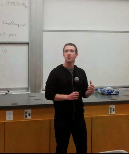 10 Keunikan Mark Zuckerberg