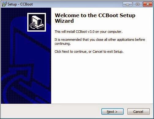 Cara Instal Server CCBoot